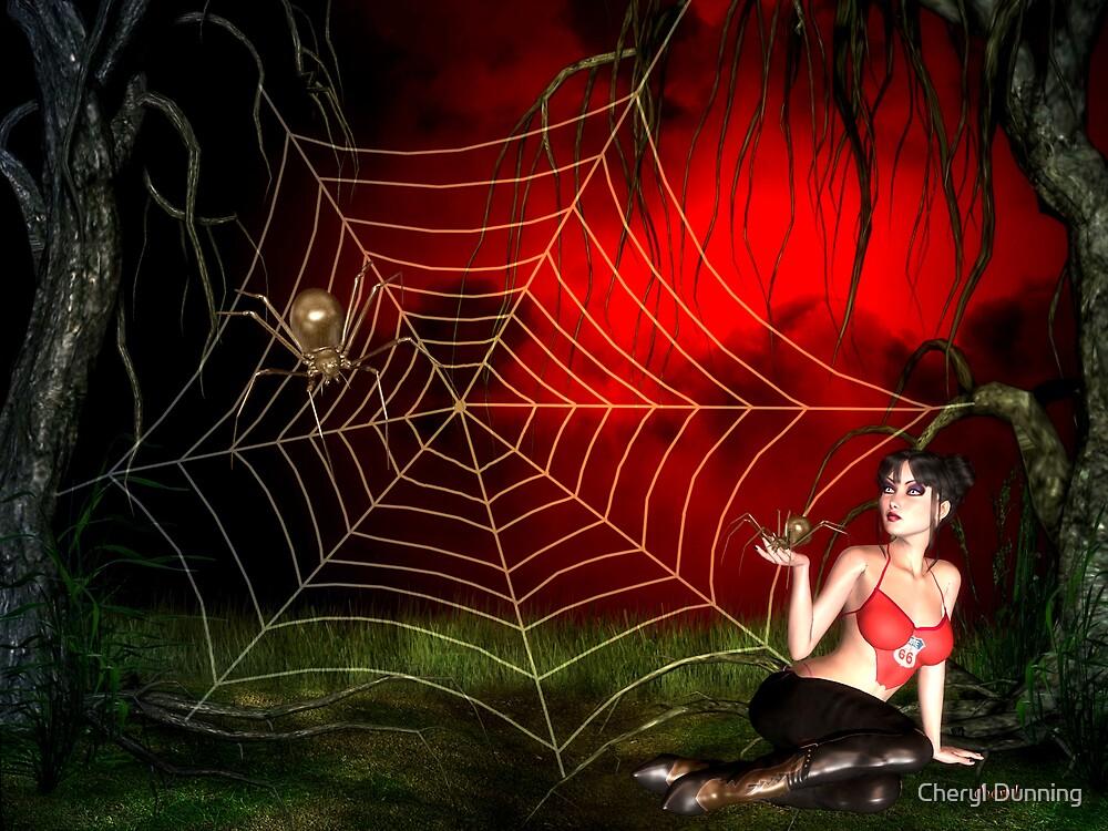 spider girl by Cheryl Dunning