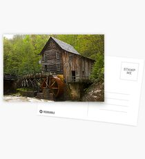 Glade Creek Grist Mill Postcards