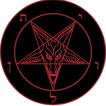 Church of Satan Baphomet Leviathan's Seal by undaememe