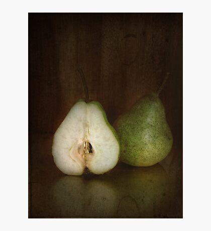 ~ still life - pears ~ Photographic Print