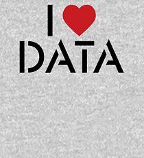 I Heart Data Kids Pullover Hoodie