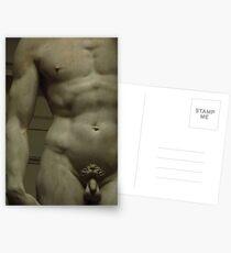 Michelangelo Study; Torso Postcards