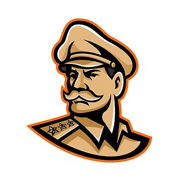 American General Mascot by patrimonio