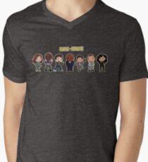 Nine-Nine!!- Brooklyn 99 Men's V-Neck T-Shirt