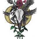Rabenschädel Ornament von Schiraki