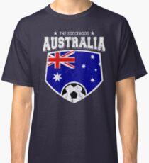 2018 Australia Football T Shirt World Soccer Jersey Cup Classic T-Shirt