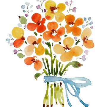 patterns Everyday | Summer bouquet by jjsgarden