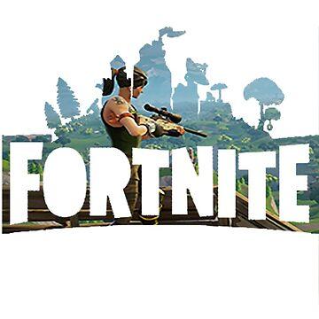 Fortnite Battle Royale - Logo  by ClutchDizzy