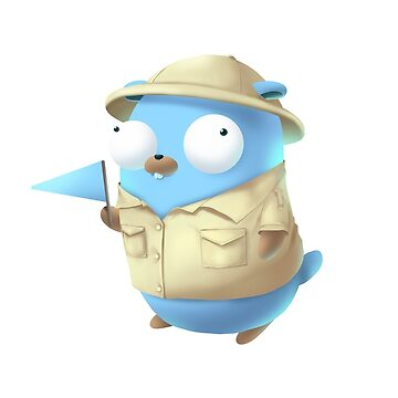 Golang Gopher Tour Guide for you by clgtart