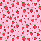 «Patrón de fresa caprichosa» de EuGeniaArt