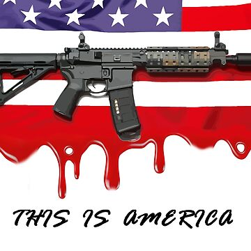 This is America (Blood) by Go-Postal