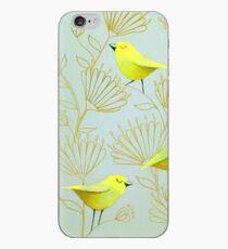Golden birds iPhone Case