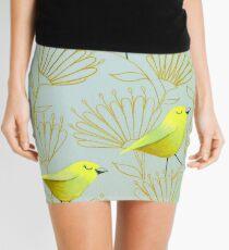 Goldene Vögel Minirock