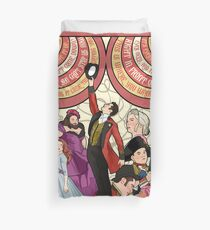 the greatest show Duvet Cover