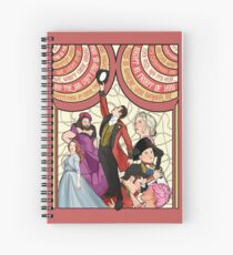 the greatest show Spiral Notebook
