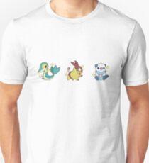 Pokémon   Shiny Unova Starters Unisex T-Shirt