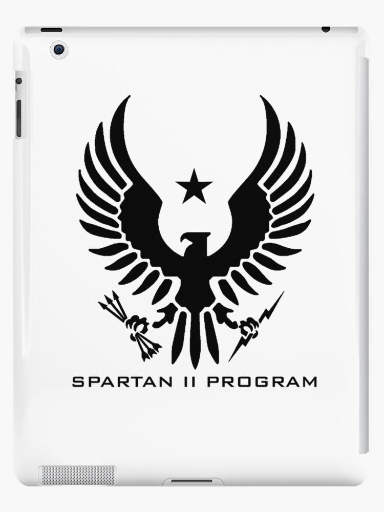 Halo Spartan Ii Program Insignia Ipad Cases Skins By Teethehee