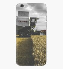 Claas Combine at Harvest iPhone Case
