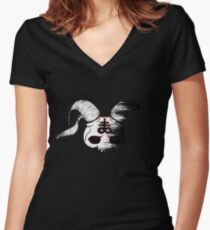 The Binding of Isaac | Wrath of the Lamb Women's Fitted V-Neck T-Shirt
