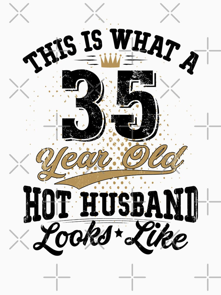 Vintage Husband Meaning 35th Birthday 35 Years Old By SpecialtyGifts