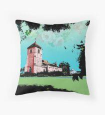 Church Landscape 2 Throw Pillow
