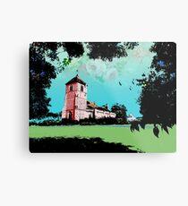 Church Landscape 2 Metal Print