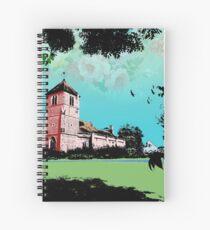 Church Landscape 2 Spiral Notebook