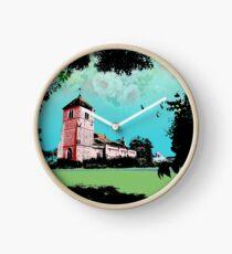 Church Landscape 2 Clock
