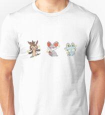 Pokémon   Shiny Kalos Starters Unisex T-Shirt