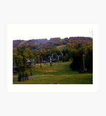 Autumn in the Berkshires. Art Print