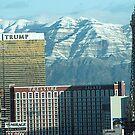 Las Vegas Strip & Mountains by urbanphotos