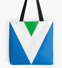 Official Vegan Flag Tote Bag