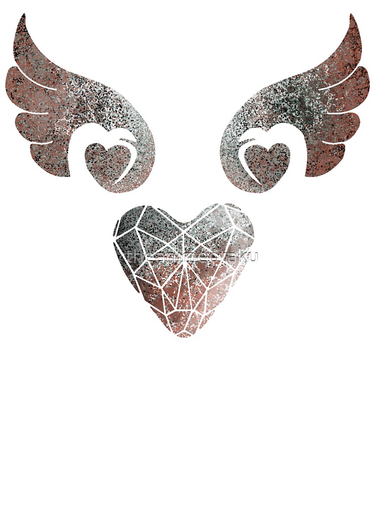 Heart Angel Wings - Antique | Baby T-Shirt