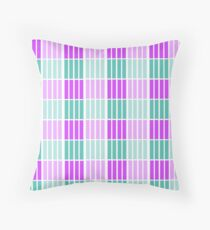 LilaBlu - Lilac and blue pattern print Floor Pillow