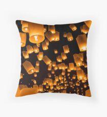 Lantern Festival Floor Pillow