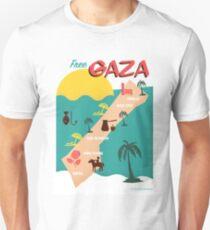 Free Gaza Tourist T-Shirt Unisex T-Shirt