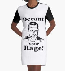 Decant your Rage! Graphic T-Shirt Dress