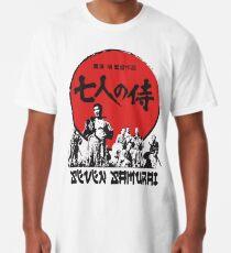 Sieben Samurai Longshirt
