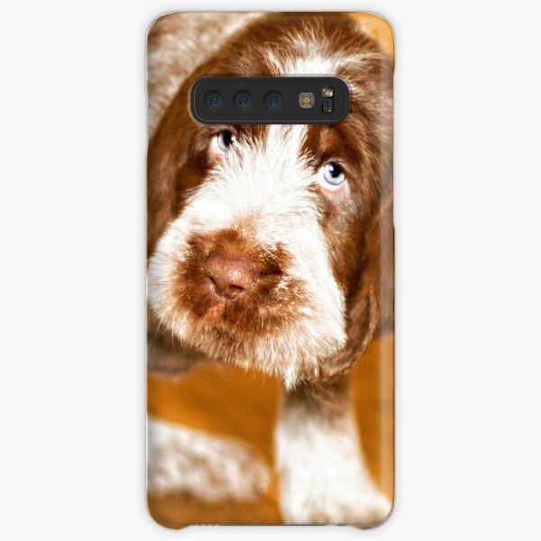 Brown Roan Italian Spinone Puppy Dog Samsung Galaxy Snap Case