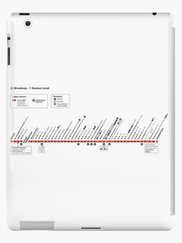 Columbus Circle Subway Map.New York City Subway Map Line Route 1 Broadway 7 Avenue
