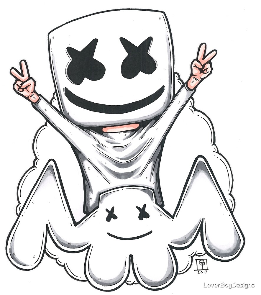 Marshmello by LoverBoyDesigns