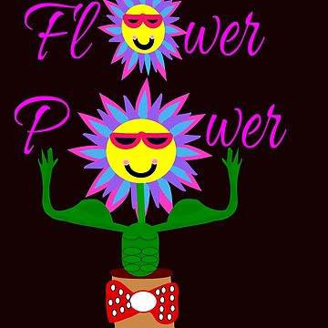 Flower Power, power of the flower by martisanne
