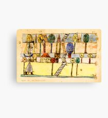 Klee - The Village Madwoman Canvas Print