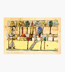 Klee - The Village Madwoman Photographic Print