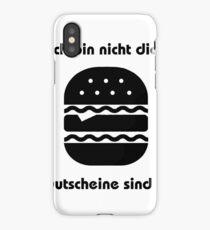 Not dick! iPhone Case