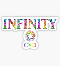 Infinity Stones Rainbow Galaxy Space Power, Space, Time, Mind, Soul, Reality Sticker