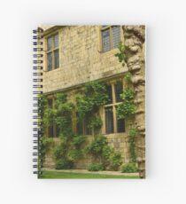 Walled gardens In York Spiral Notebook
