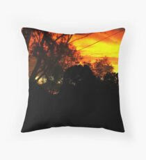 Blood of the Night. Throw Pillow
