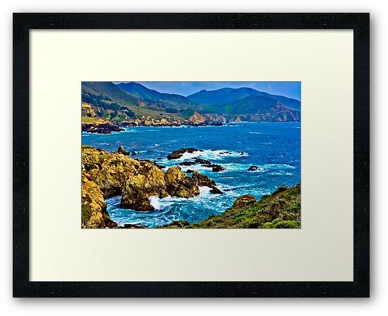 Big Sur, Rocky Point by photosbyflood