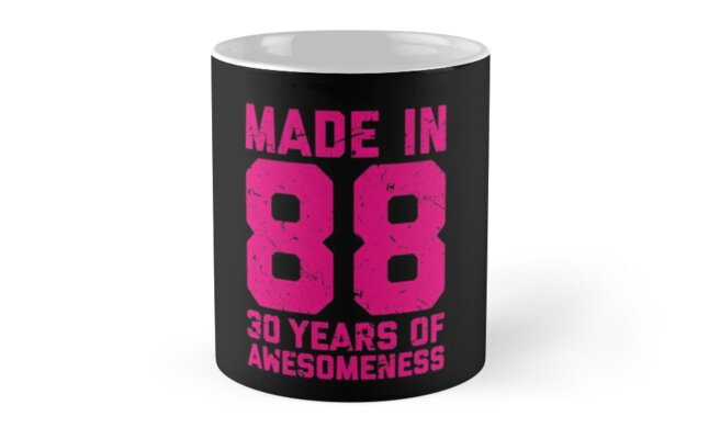 30th Birthday Gift Adult Age 30 Year Old Women Womens By Matt L
